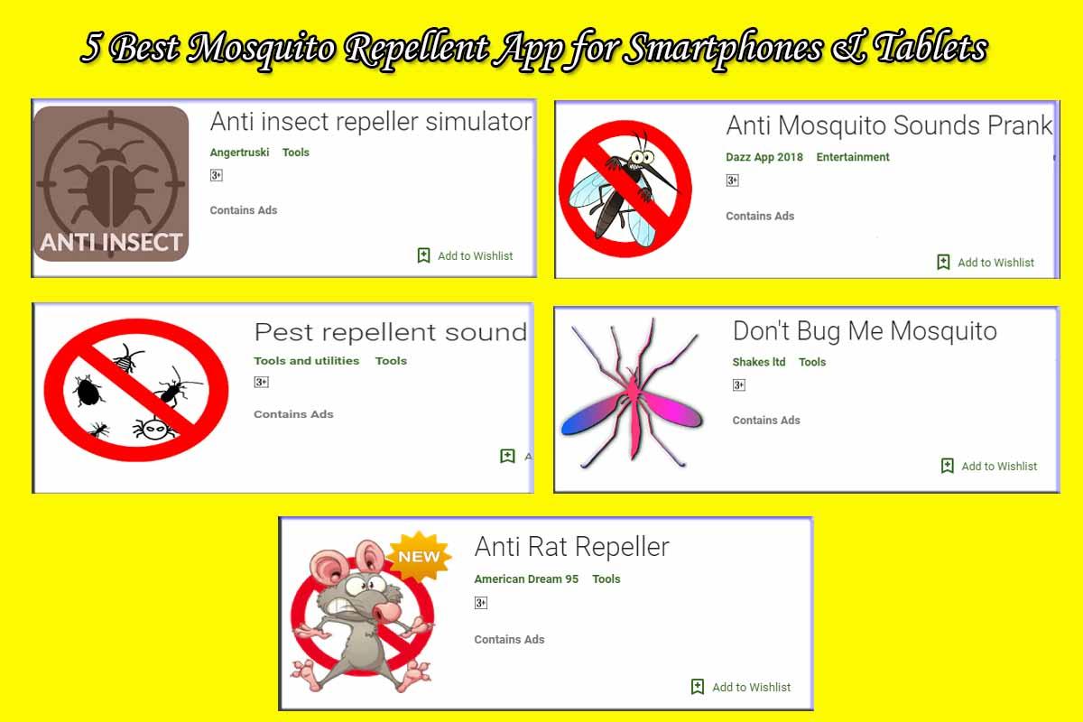 5 Best Mosquito Repellent App for Smartphones