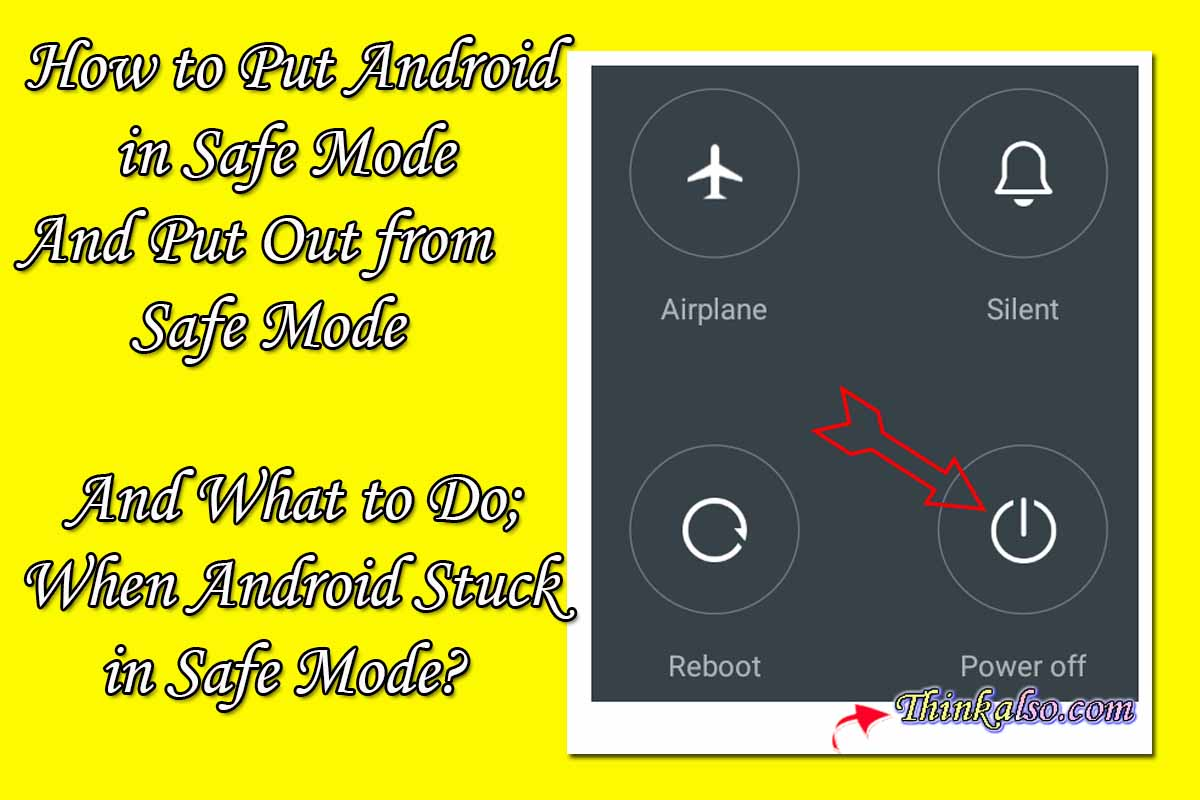 How to Put Android in Safe Mode -  Android Stuck in Safe Mode