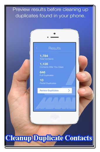 Contact Remover App