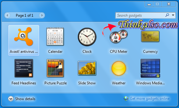 Disable Sidebar Gadgets on Windows 10
