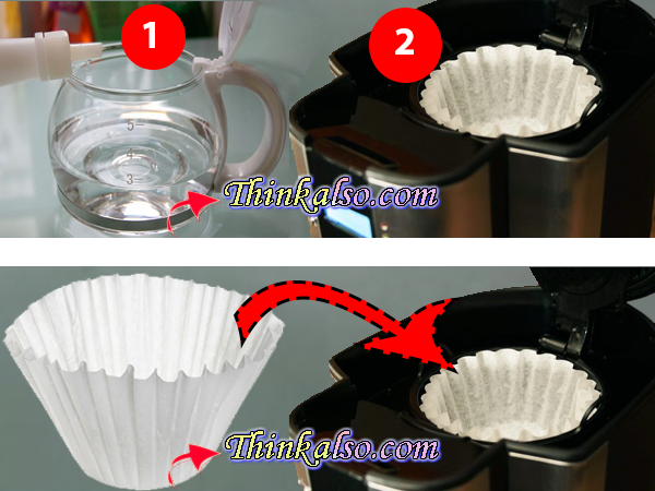 How to Clean Coffee maker with Bleach
