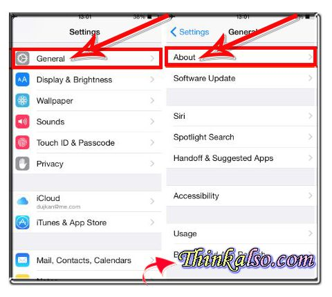How to Rename iPhone through Settings App