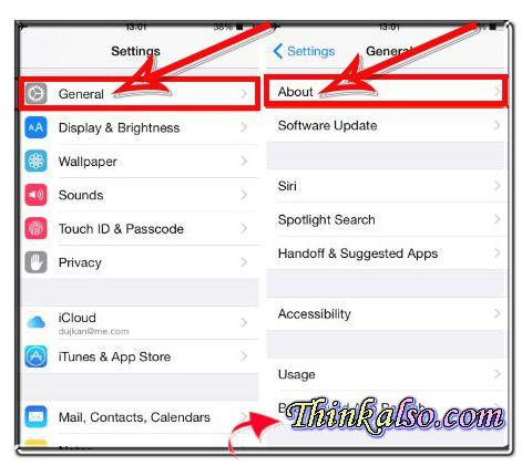 How to Rename iPhone through Settings App