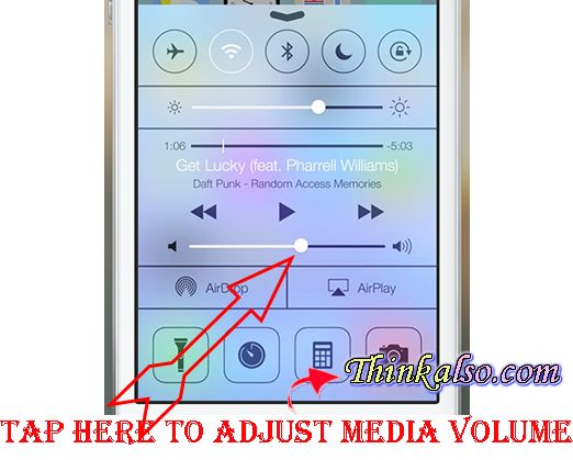 How to increase Media Volume on iPhone