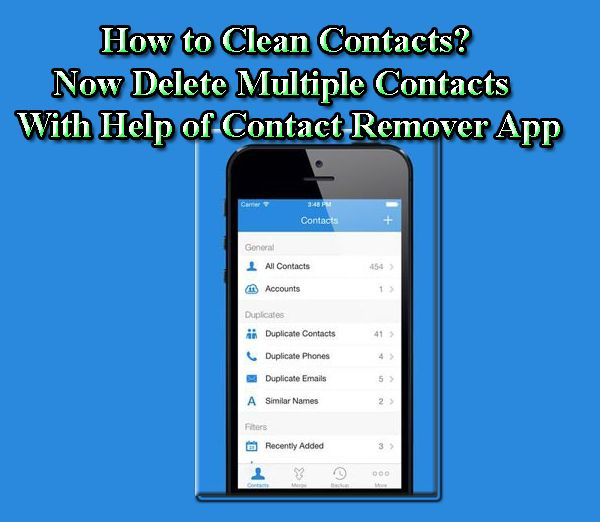 How to merge contacts