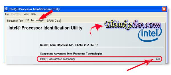 Intel Processor identification utility intelutility