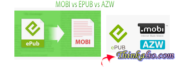 MOBI vs EPUB vs AZW