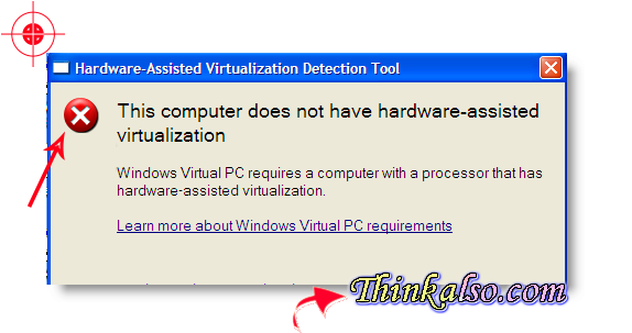 Microsoft Hardware Assisted Virtualization Detection tool, Enable Intel vt-x