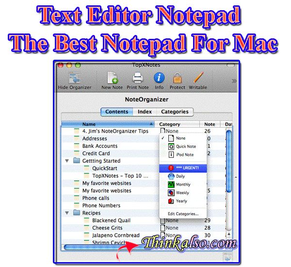 Notepad For Mac