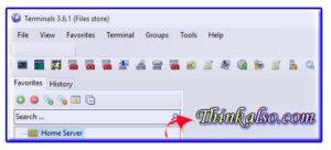 Terminals SSH client for Windows 10