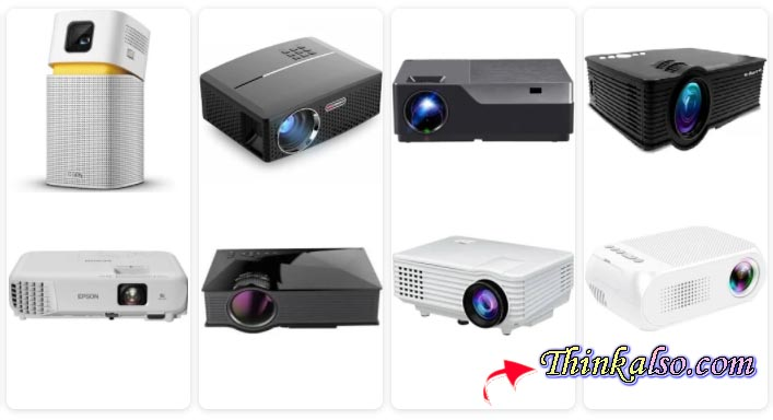 Top 5 Best Home Theater Projectors Under 500 dollars in 2021 for Home and Office