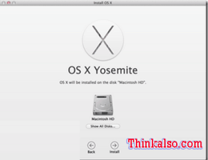 Upgrade Yosemite on MacBook Pro