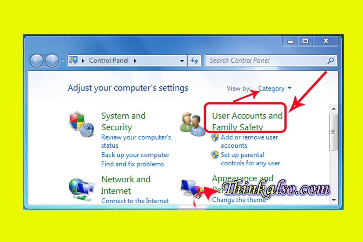User Accounts in windows 10
