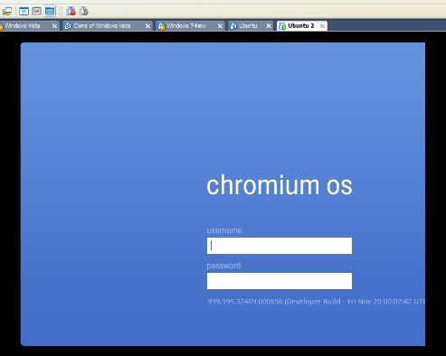 booting chrome os from usb