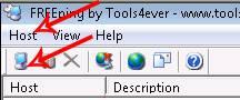 freeping tool icon