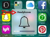 headphone instead of ringer in iphone
