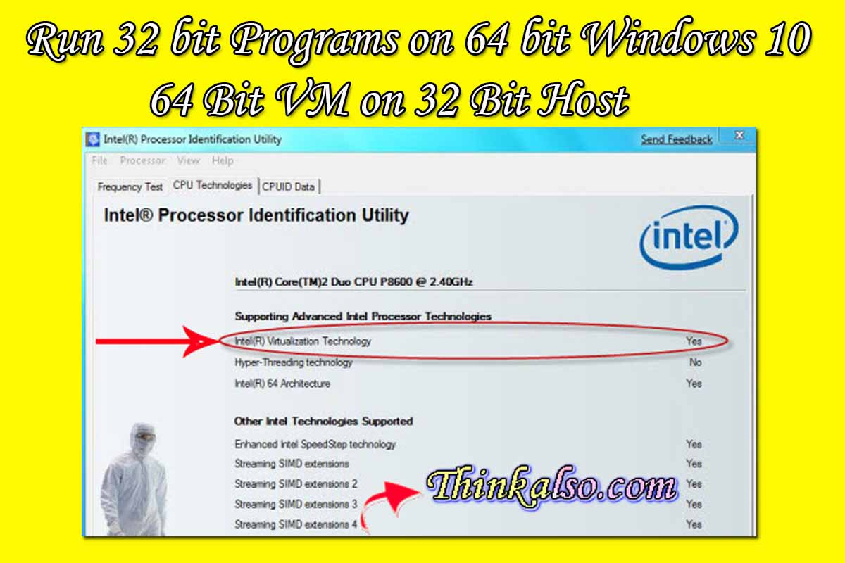 How to run 32 bit programs on 64 bit windows 10