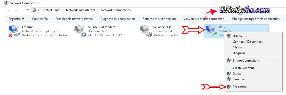 how to set a public open DNS servers manually