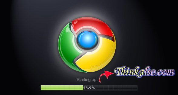 starting up Google Chrome OS