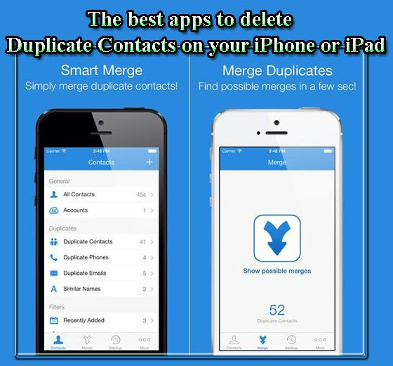 the best apps to delete duplicate contacts on your iPhone or iPad