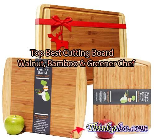 5 Best Cutting Board - Walnut, Bamboo & Greener Chef