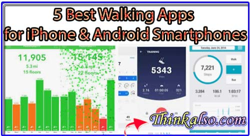 5 Best Walking Apps for iPhone and Android Smartphones