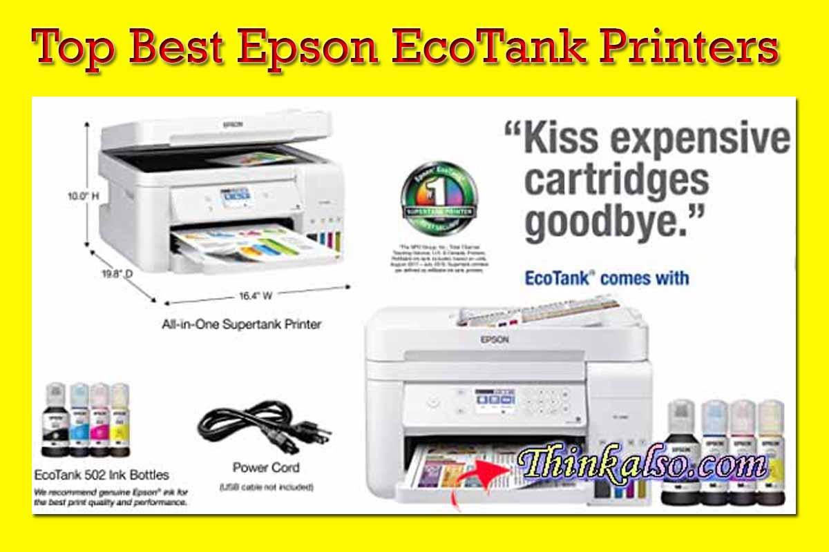 Best Epson EcoTank Printers