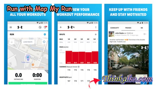 Run with Map My Run for Android Smartphones