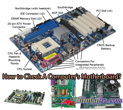 What is My Motherboard - How to Check A Computer's Motherboard