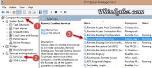 running rdp service in windows 10