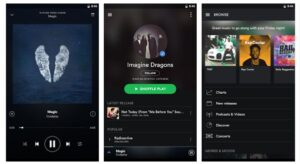 Spotify Music for SmartPhone and Tablet