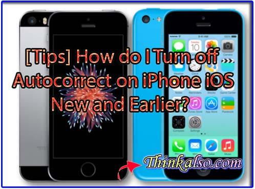 How do I Turn off Autocorrect on iPhone iOS 14