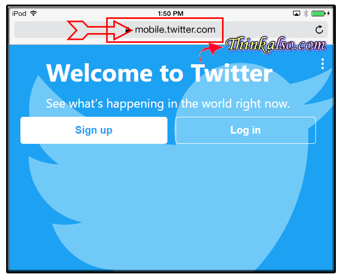 How to Access Twitter Desktop Site on iOS Devices
