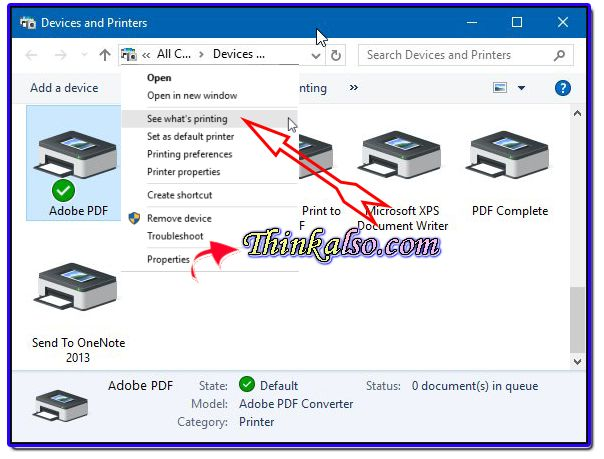 How to Get Printer Online on Windows 7