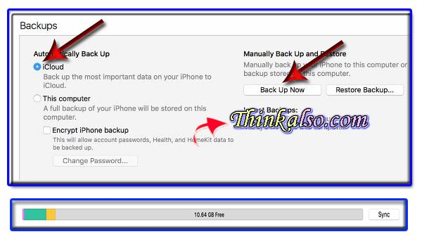 How to Backup iPhone on iTunes and iCloud