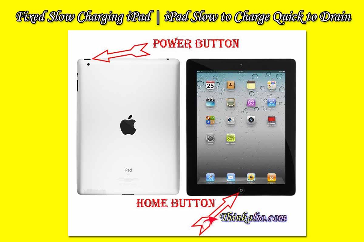 Slow Charging iPad