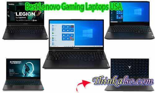 Best Lenovo Gaming Laptops USA