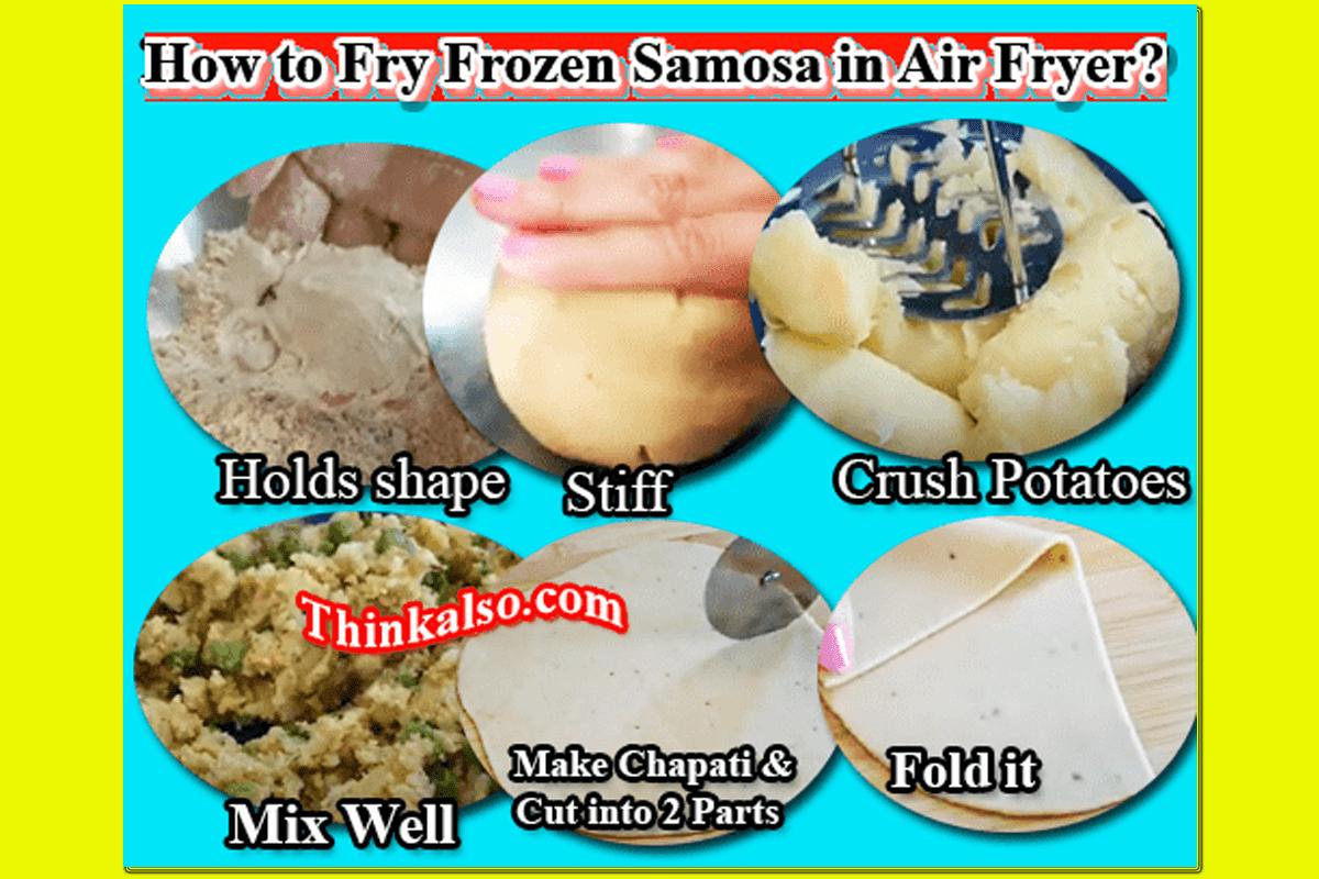 How to Fry Frozen Samosa in Air Fryer min