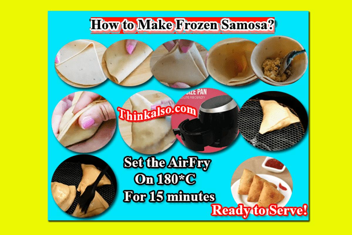 How to Make Frozen Samosas