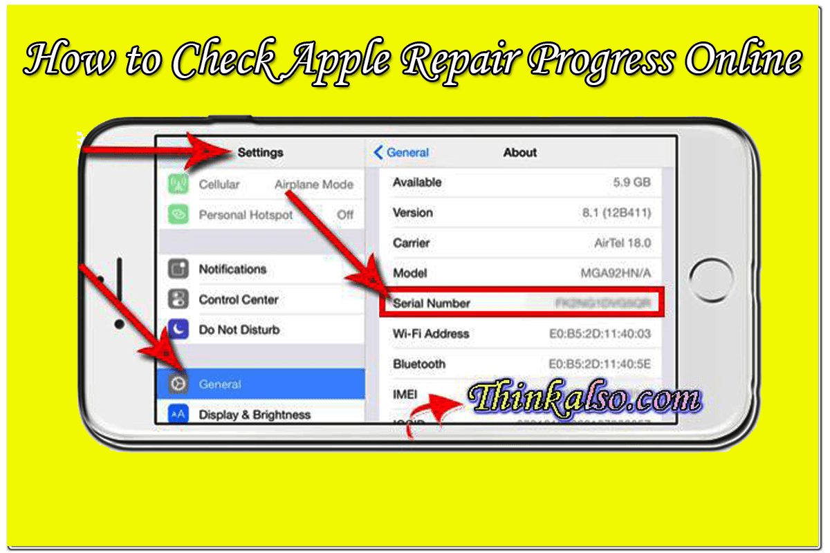 How to Check Apple Repair Progress Online