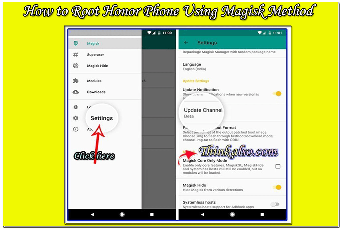 How to Root Honor Phone Using Magisk Method